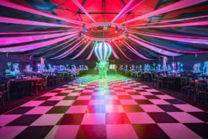 Dream Circus Christmas Party Themed Night