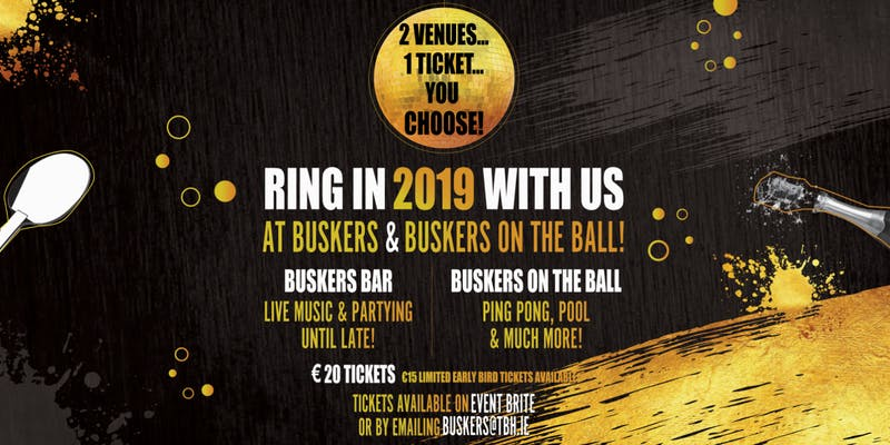 New Years Eve Venue - Buskers Bar